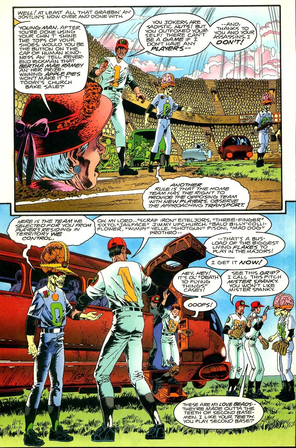 Read online Mars Attacks Baseball Special comic -  Issue # Full - 6