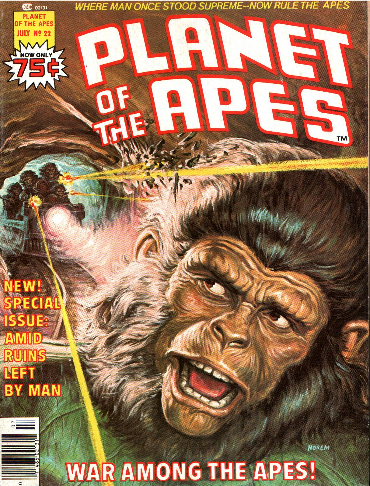 Planet of the Apes (1974) 22 Page 1