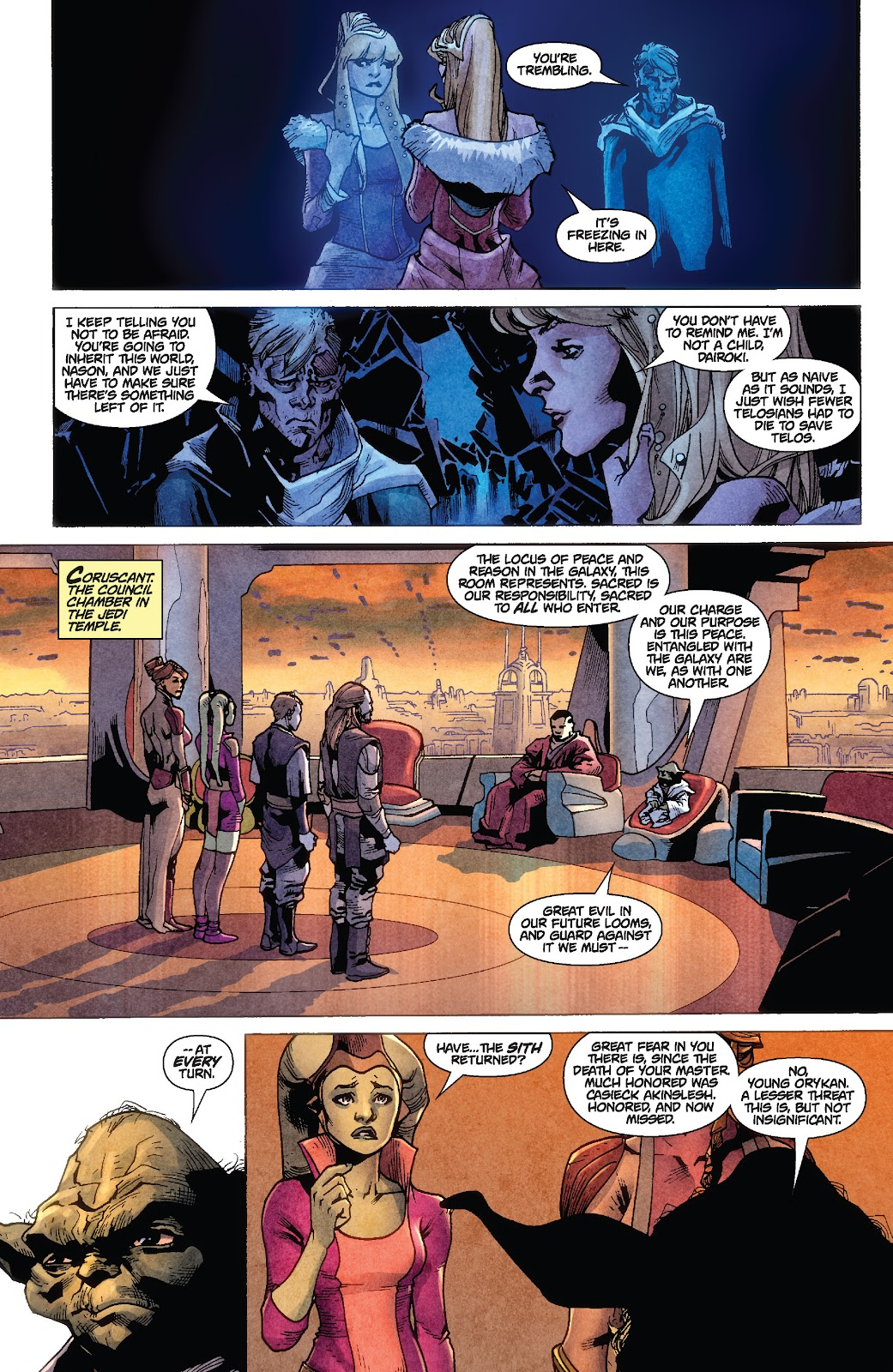 Read online Star Wars Legends: Rise of the Sith - Epic Collection comic -  Issue # TPB 1 (Part 1) - 90