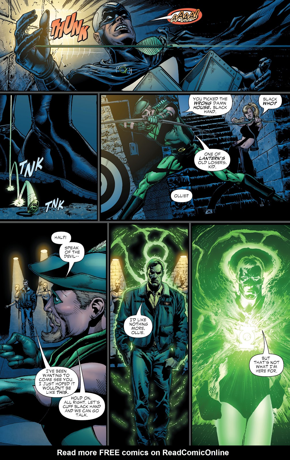 Read online Green Lantern by Geoff Johns comic -  Issue # TPB 1 (Part 1) - 25
