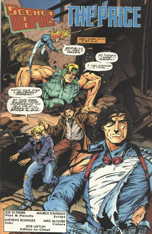 Read online Secret Weapons comic -  Issue #8 - 2