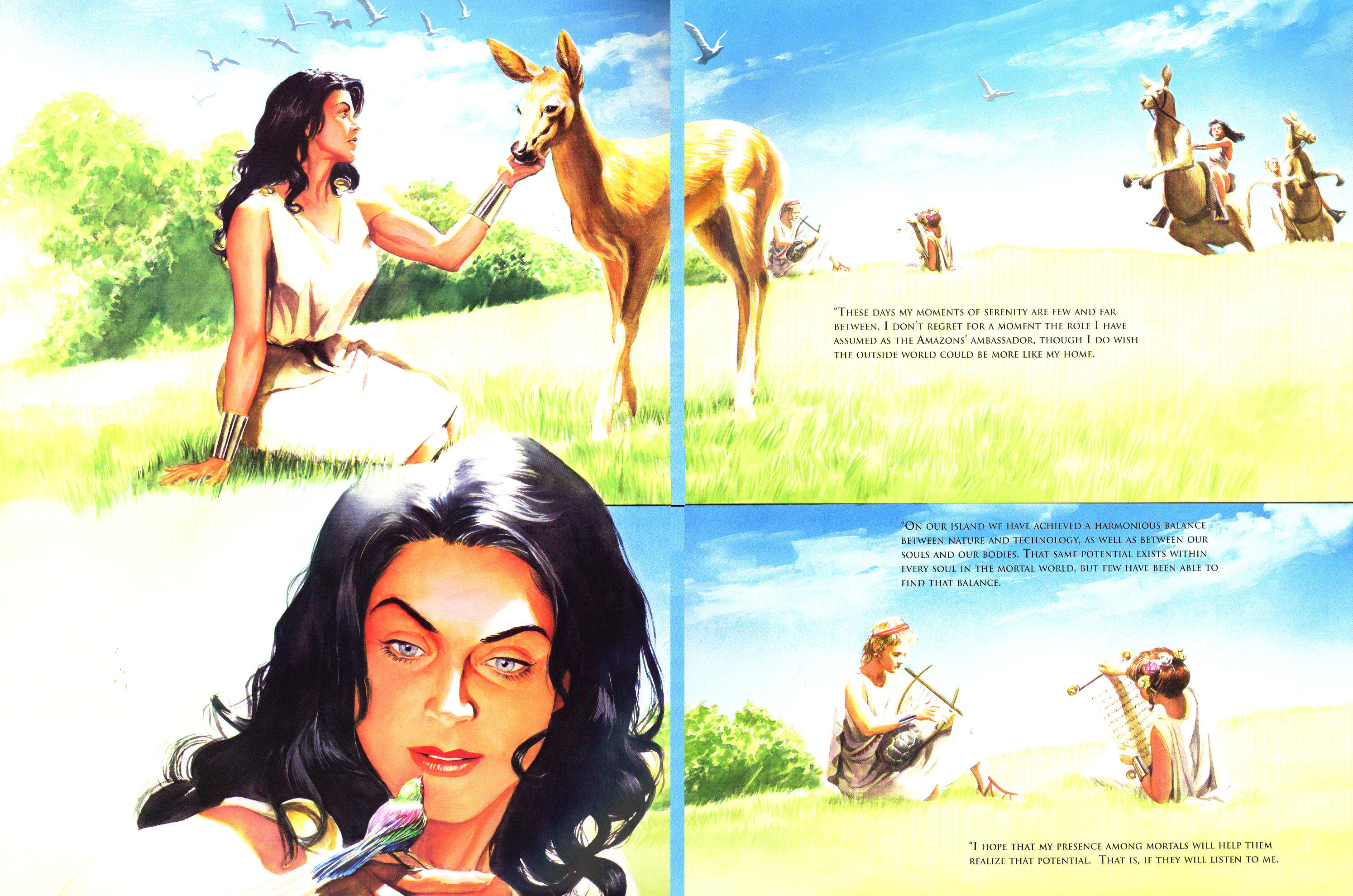 Read online Wonder Woman: Spirit of Truth comic -  Issue # Full - 21