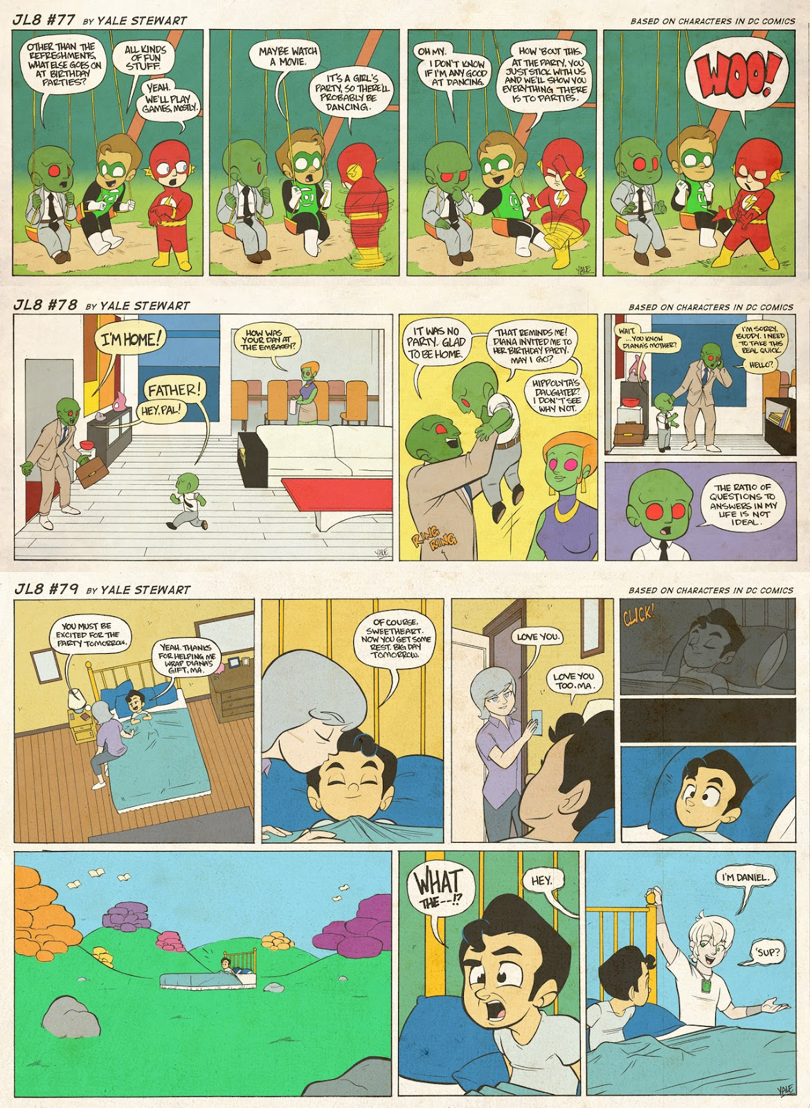 Read online JL8 – The Complete Collection comic -  Issue # TPB (Part 1) - 40