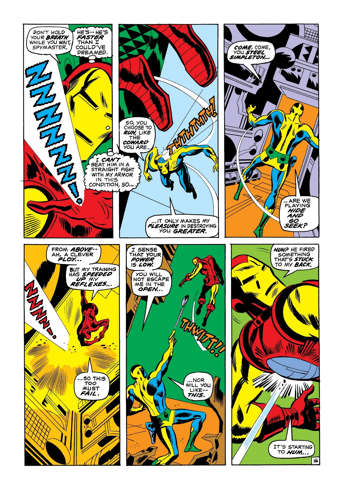 Read online Marvel Masterworks: The Invincible Iron Man comic -  Issue # TPB 7 (Part 2) - 84