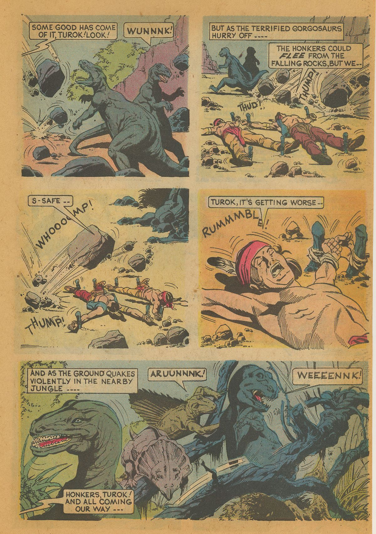 Read online Turok, Son of Stone comic -  Issue #112 - 27