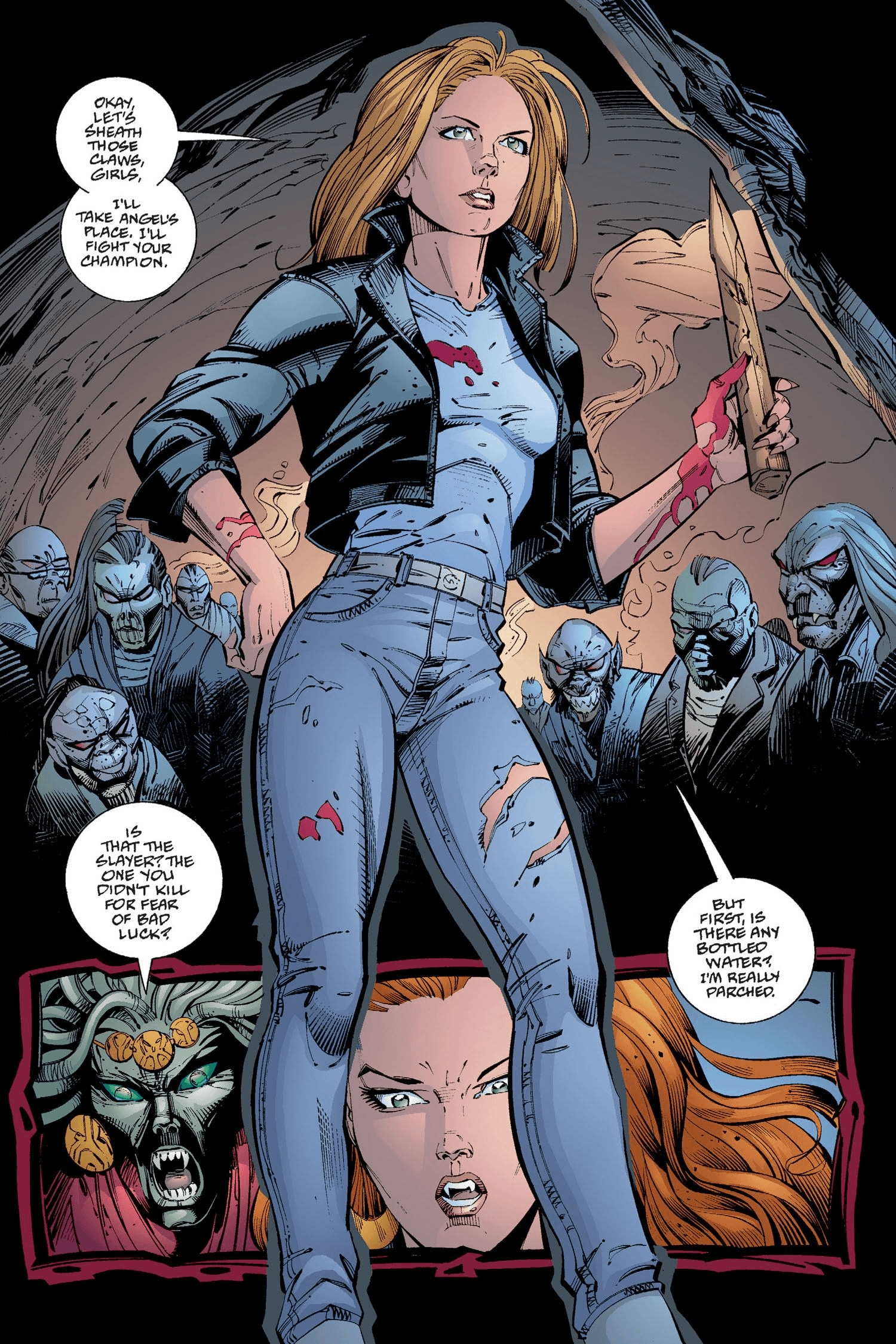 Read online Buffy the Vampire Slayer: Omnibus comic -  Issue # TPB 2 - 286
