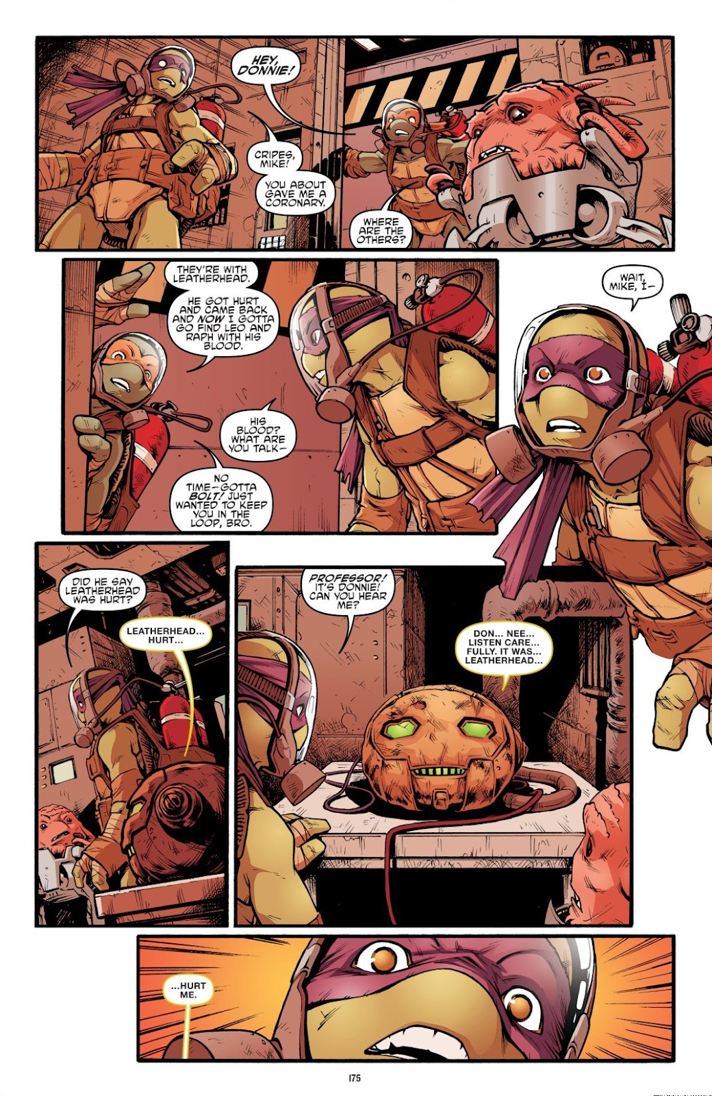 Read online Teenage Mutant Ninja Turtles: The IDW Collection comic -  Issue # TPB 7 (Part 2) - 69
