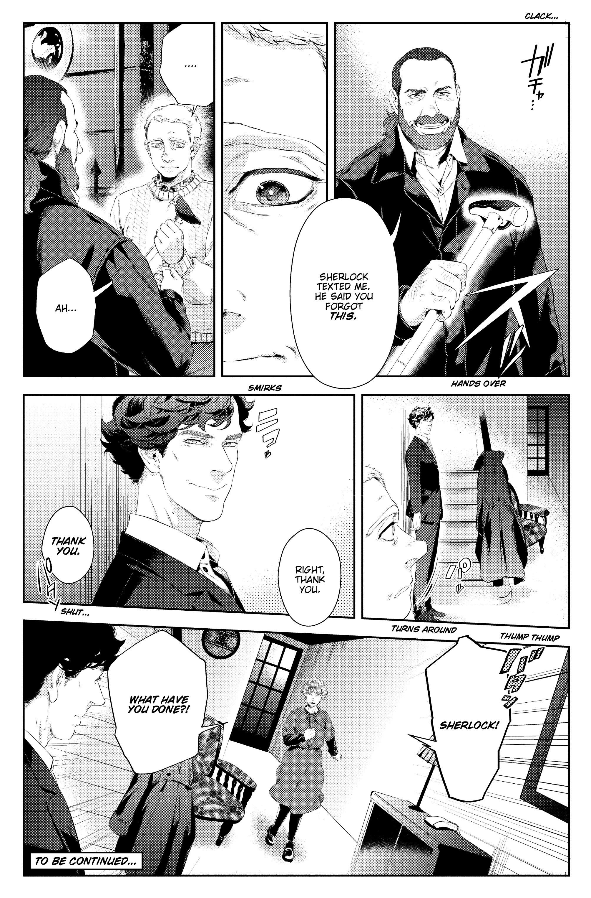 Read online Sherlock: A Study In Pink comic -  Issue #4 - 24
