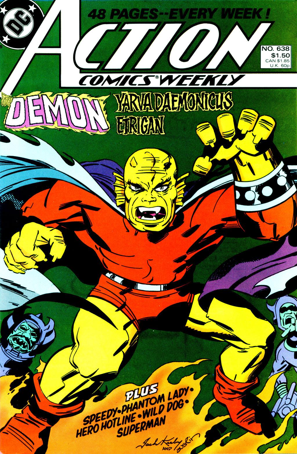 Action Comics (1938) 638 Page 1