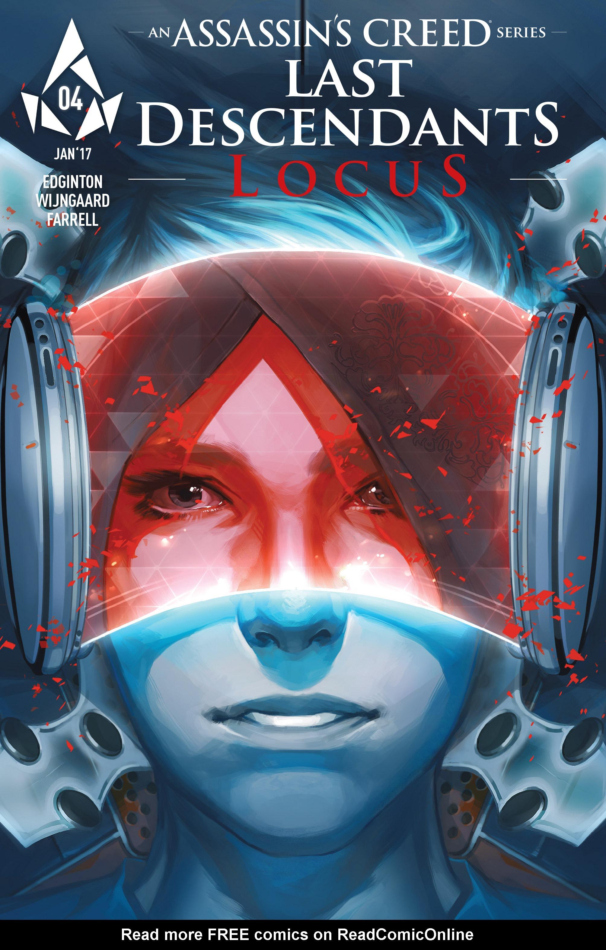 Read online Assassin's Creed: Locus comic -  Issue #4 - 3