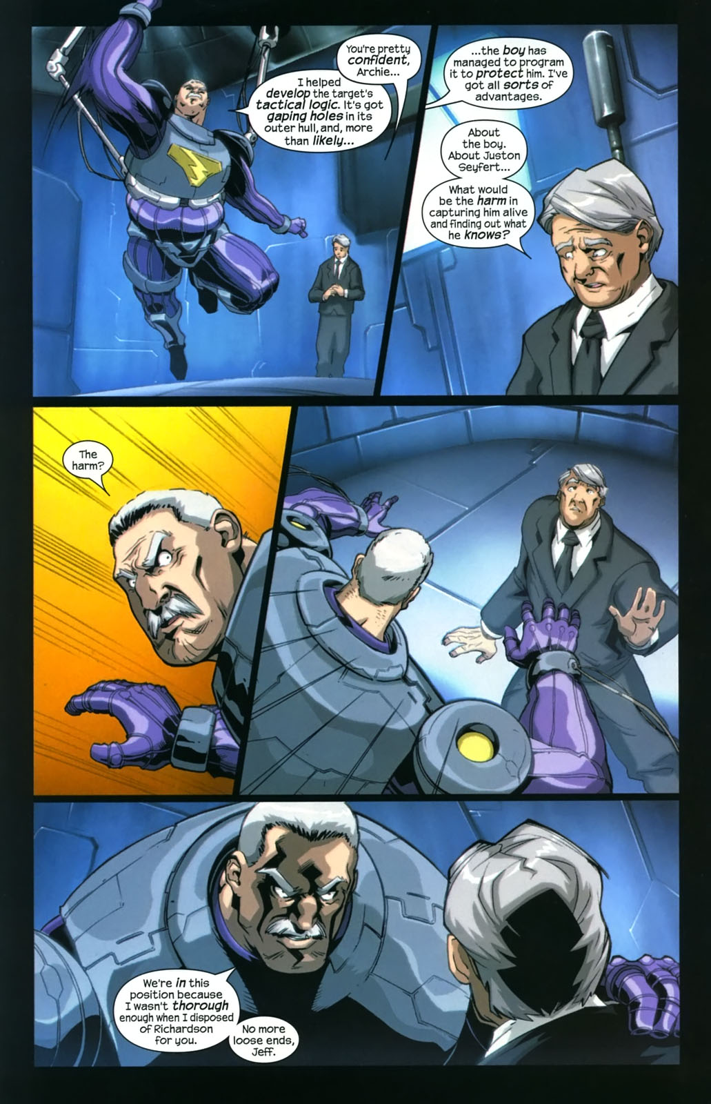 Read online Sentinel (2006) comic -  Issue #4 - 8