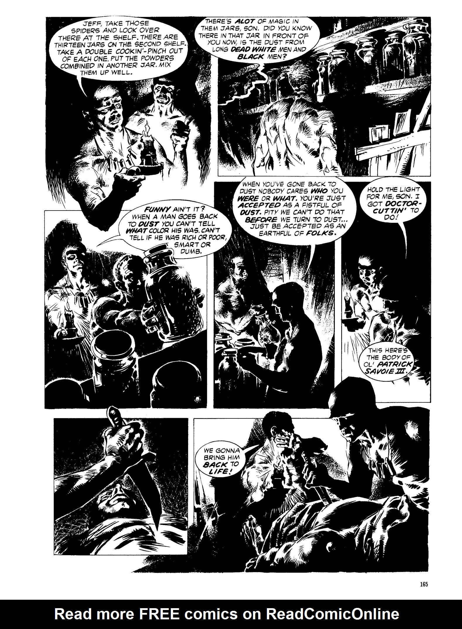 Read online Eerie Archives comic -  Issue # TPB 13 - 166