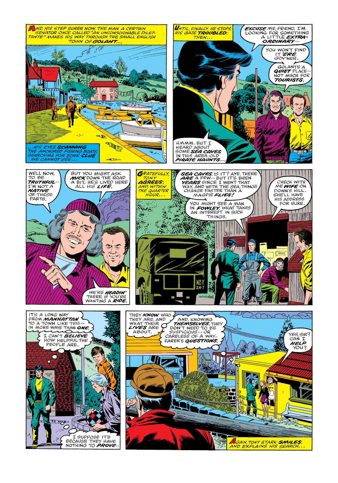 Read online Marvel Masterworks: The Invincible Iron Man comic -  Issue # TPB 11 (Part 3) - 74