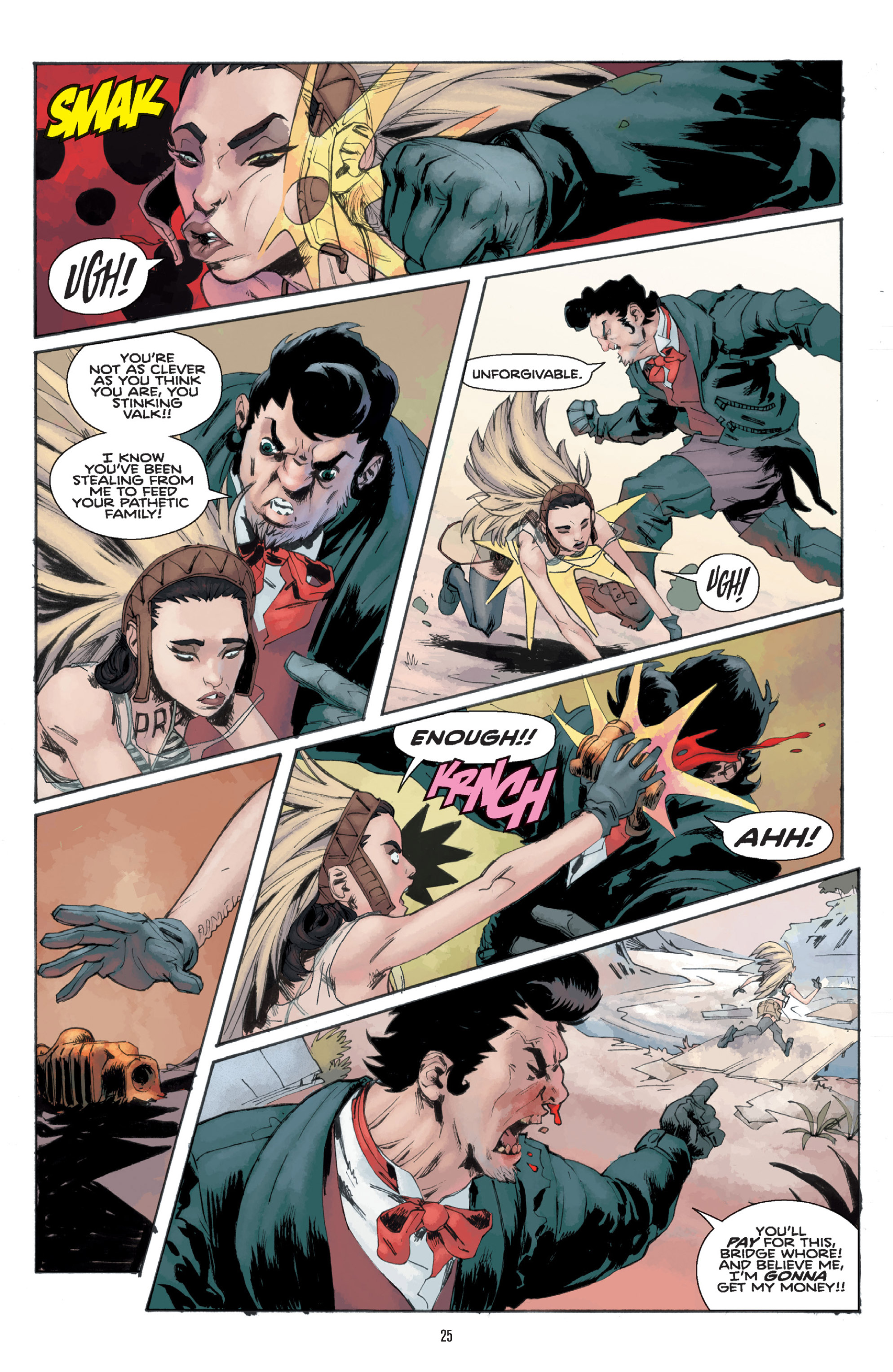 Read online Orchid comic -  Issue # TPB 1 - 25
