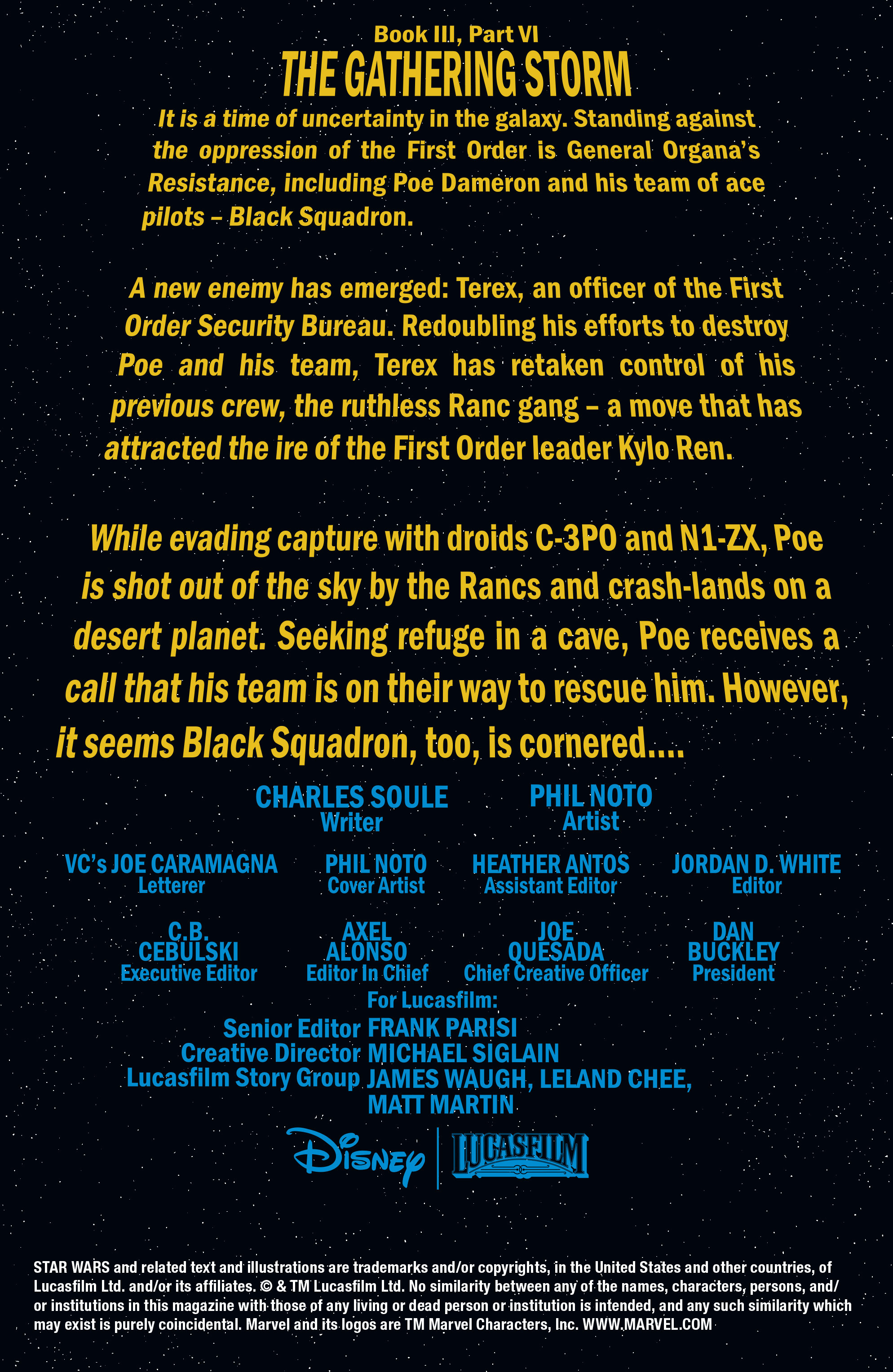 Read online Star Wars: Poe Dameron comic -  Issue #13 - 2