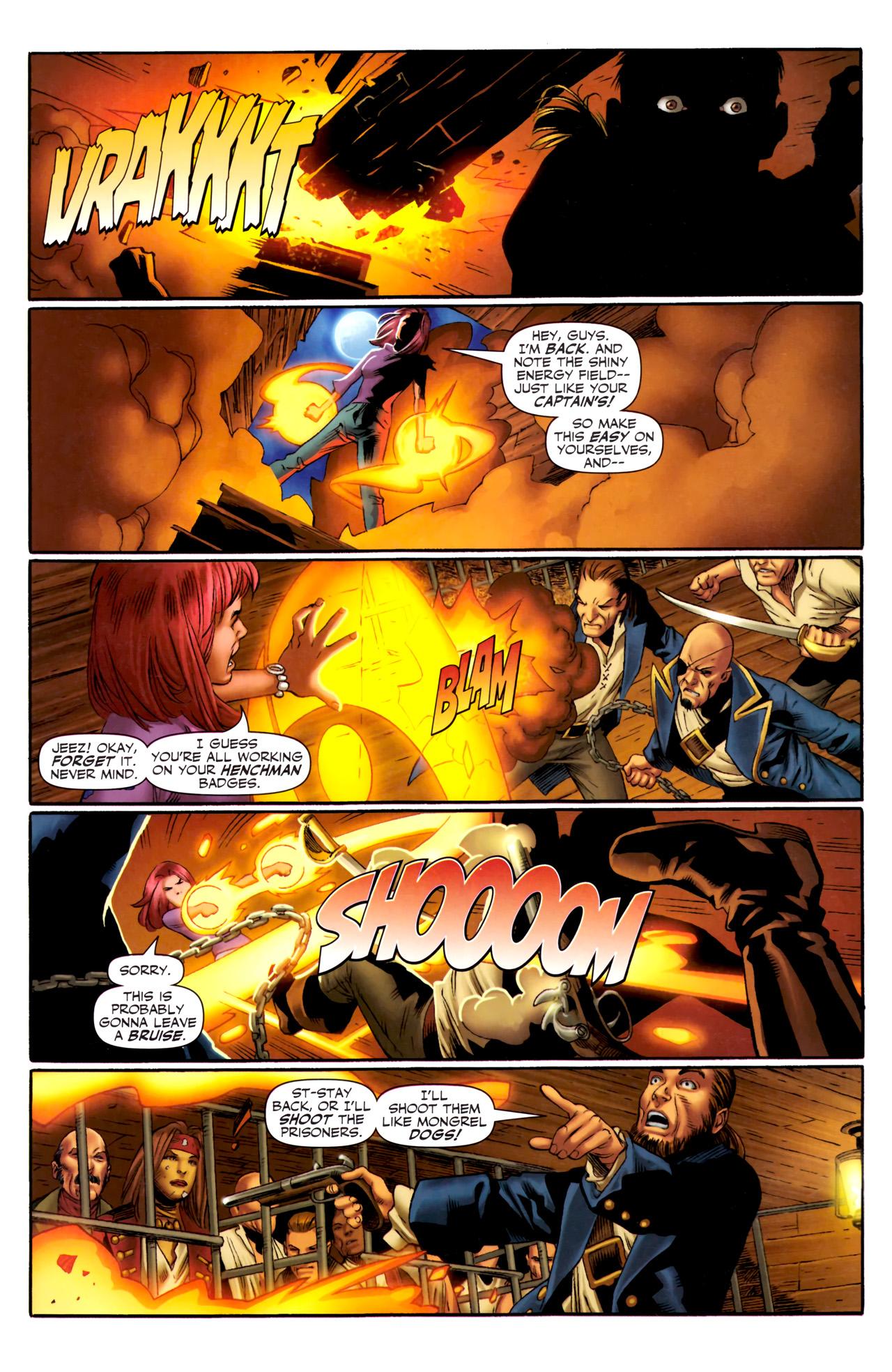 Read online Sigil (2011) comic -  Issue #3 - 5