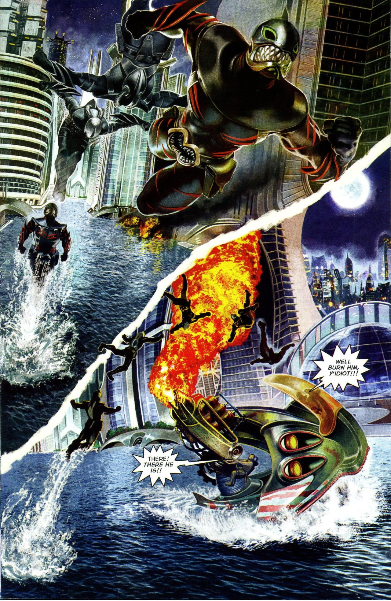 Read online Shark-Man comic -  Issue #3 - 9