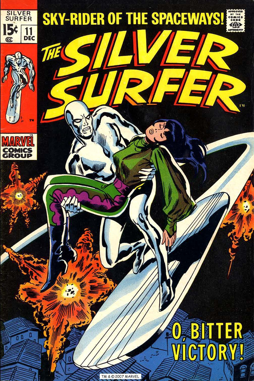 Read online Silver Surfer (1968) comic -  Issue #11 - 1