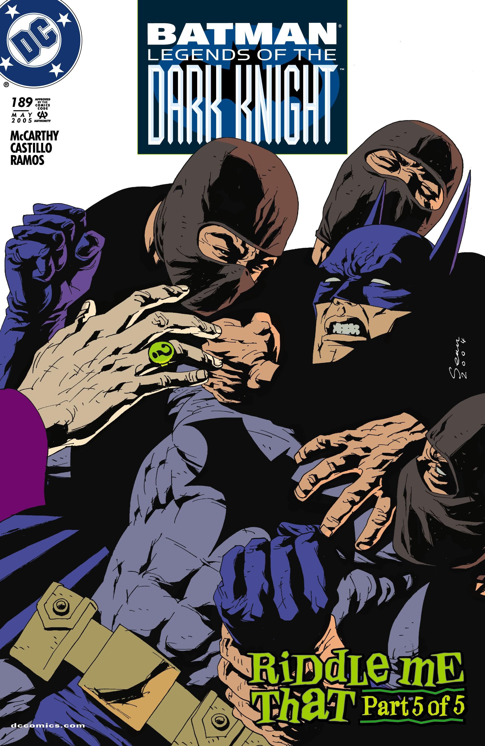 Batman: Legends of the Dark Knight 189 Page 1