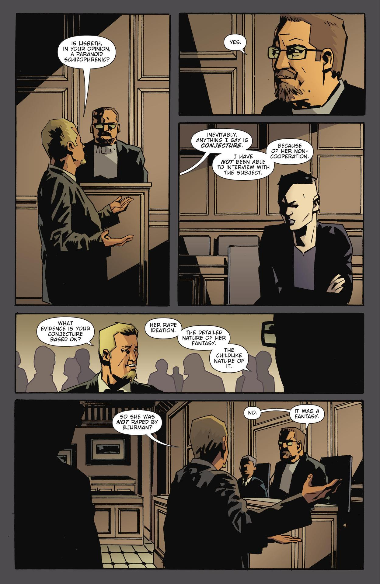 Read online The Girl Who Kicked The Hornet's Nest comic -  Issue # TPB - 233