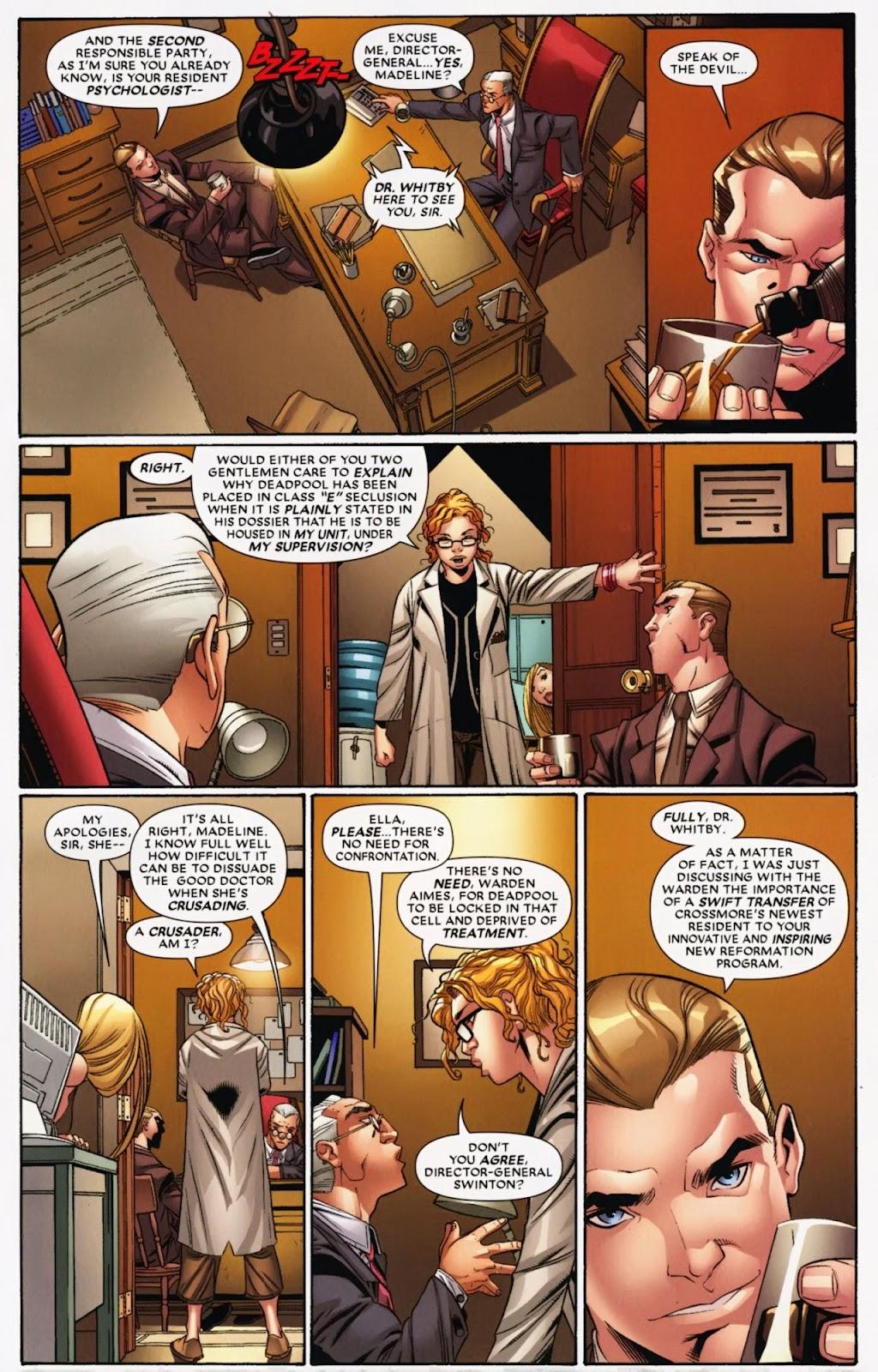 Read online Deadpool (2008) comic -  Issue #40 - 7