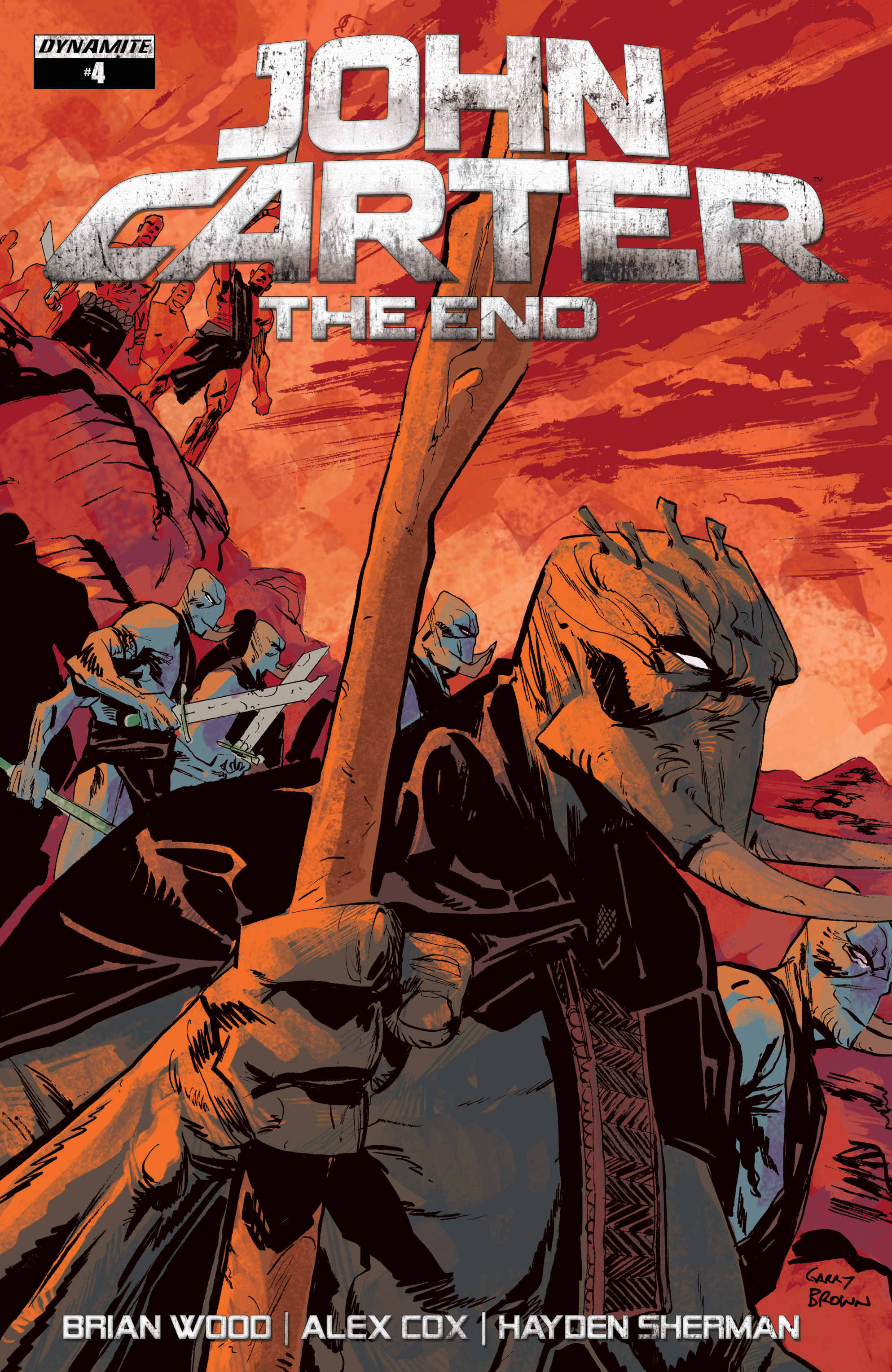 Read online John Carter: The End comic -  Issue #4 - 2
