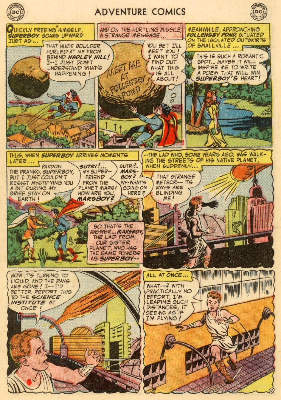 Read online Adventure Comics (1938) comic -  Issue #195 - 6