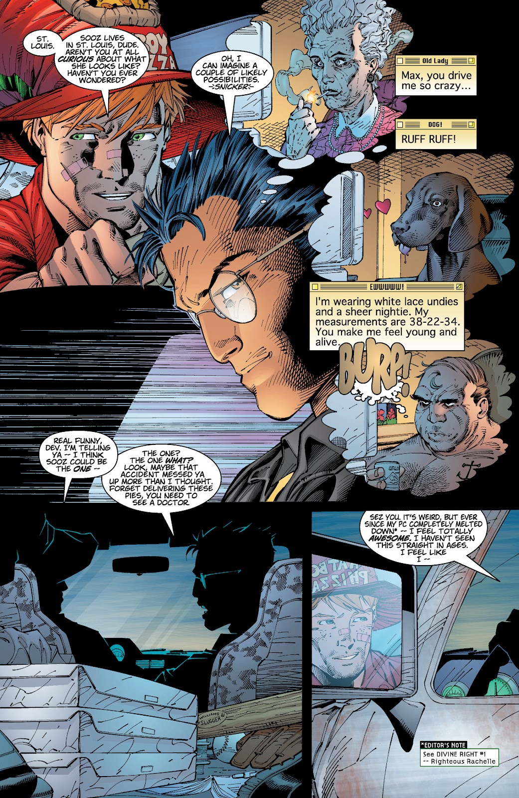 Read online Divine Right comic -  Issue # _TPB The Adventures of Max Faraday (Part 1) - 57