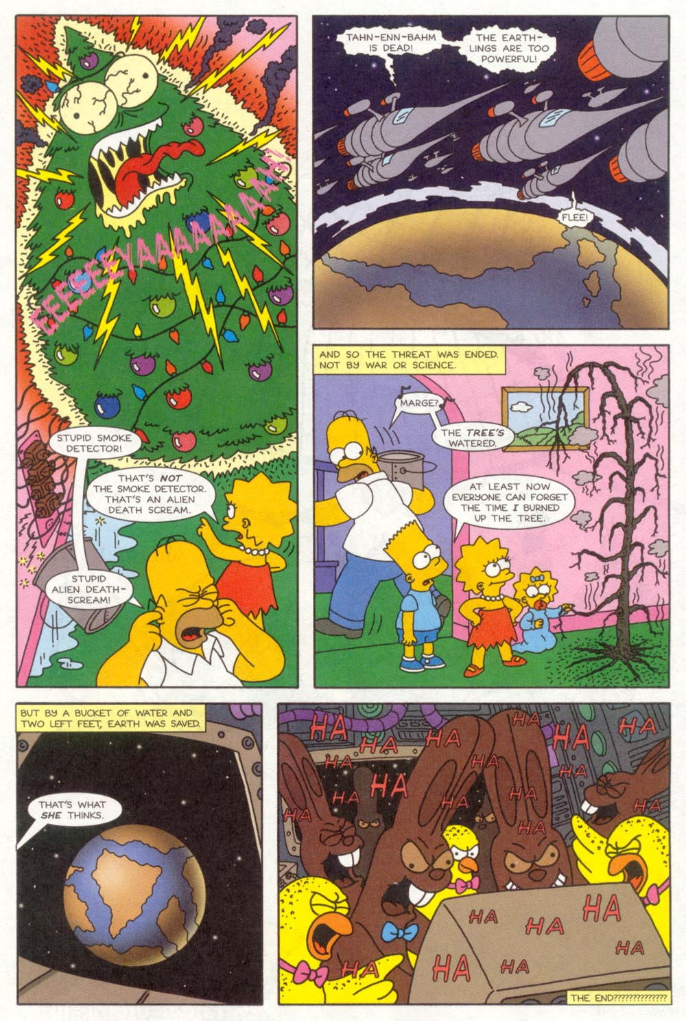 Read online Treehouse of Horror comic -  Issue #4 - 14
