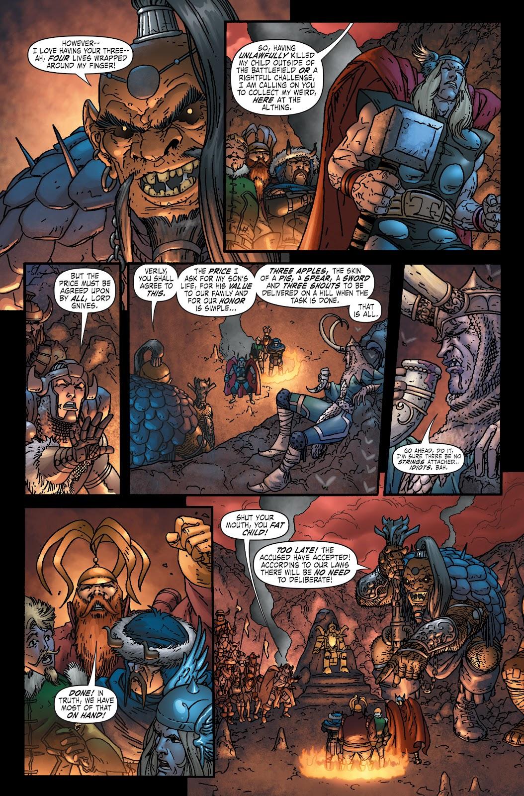 Read online Thor: Ragnaroks comic -  Issue # TPB (Part 1) - 23