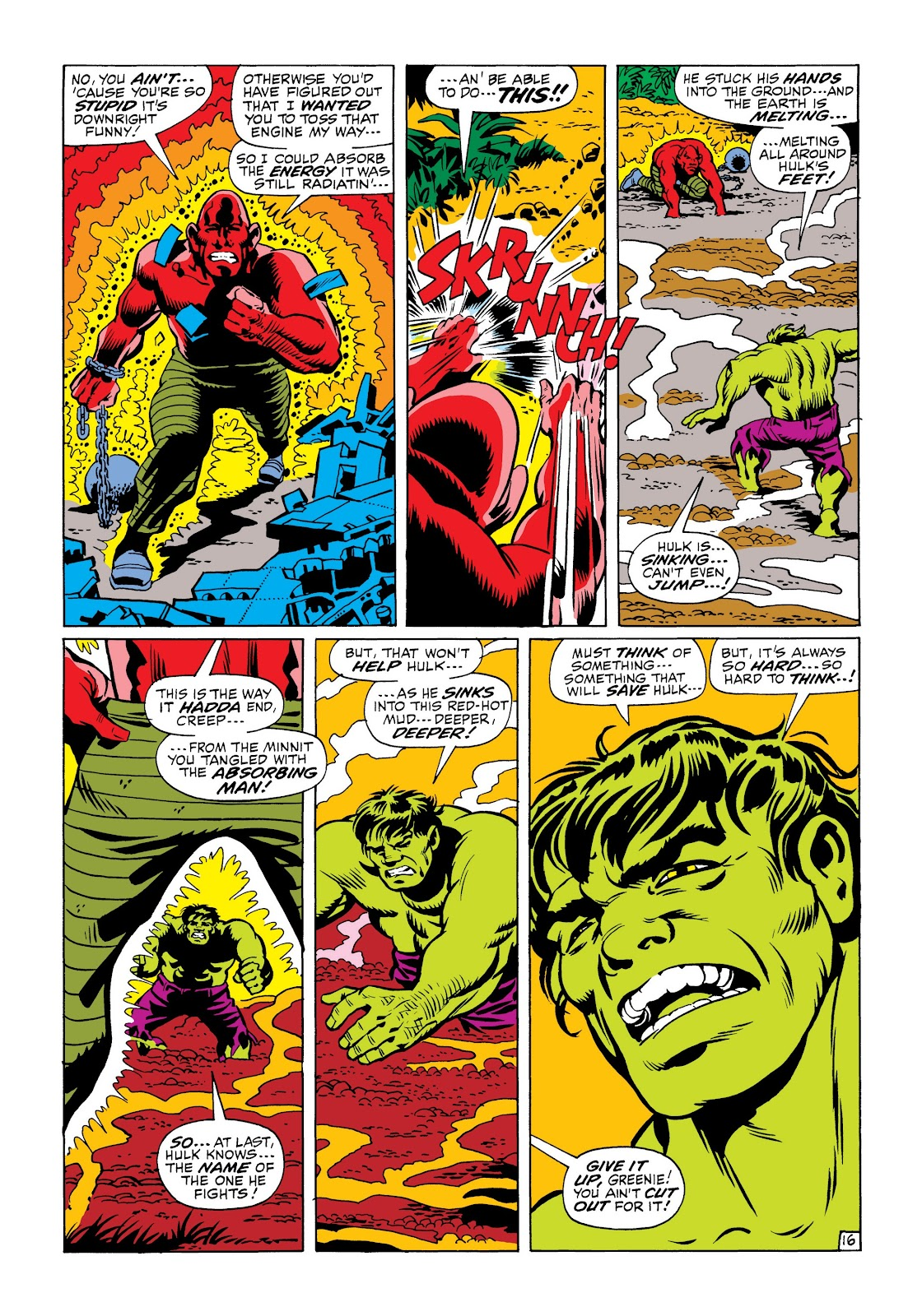 Read online Marvel Masterworks: The Incredible Hulk comic -  Issue # TPB 6 (Part 1) - 88
