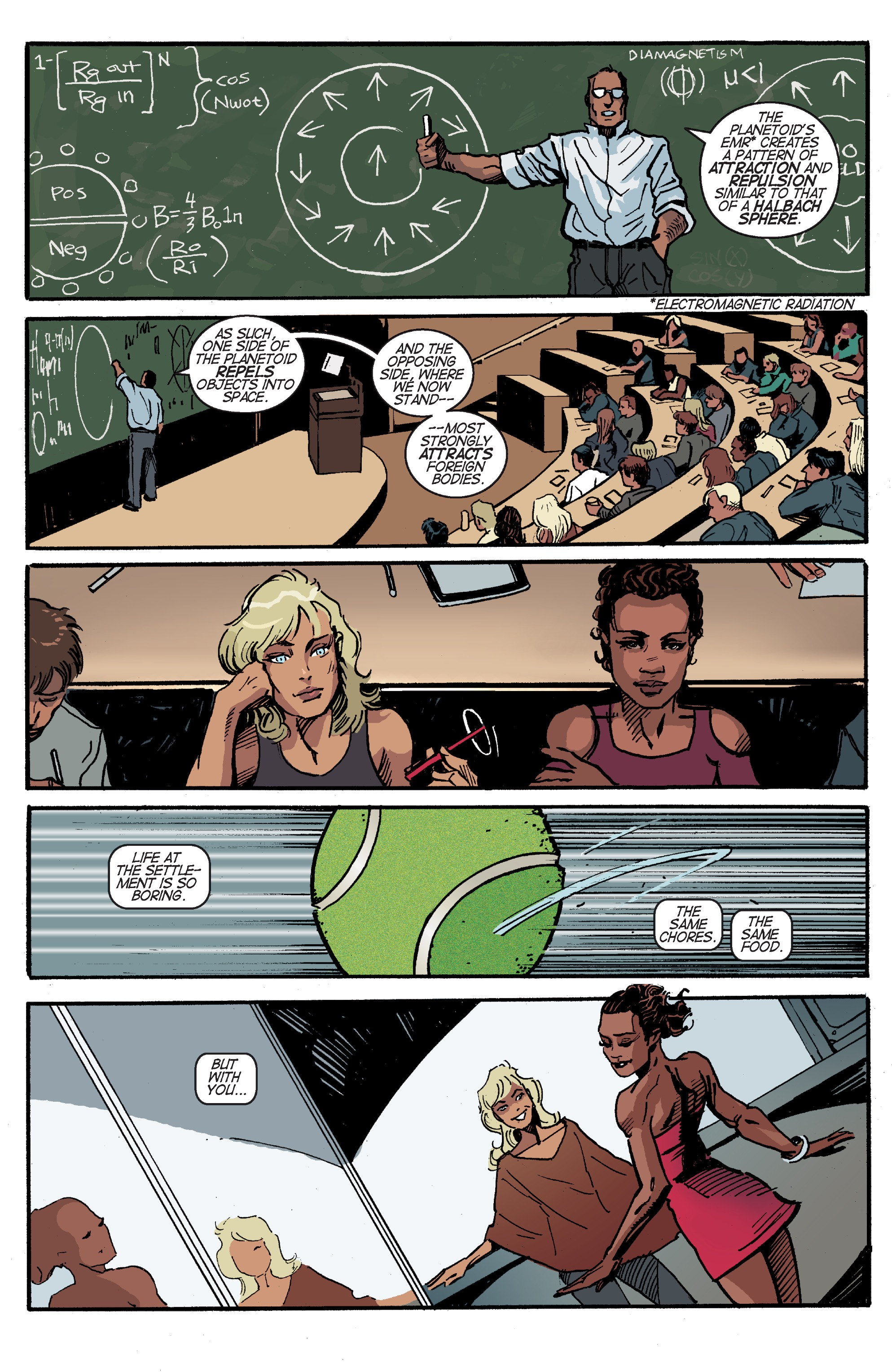 Read online Planetoid Praxis comic -  Issue #4 - 8