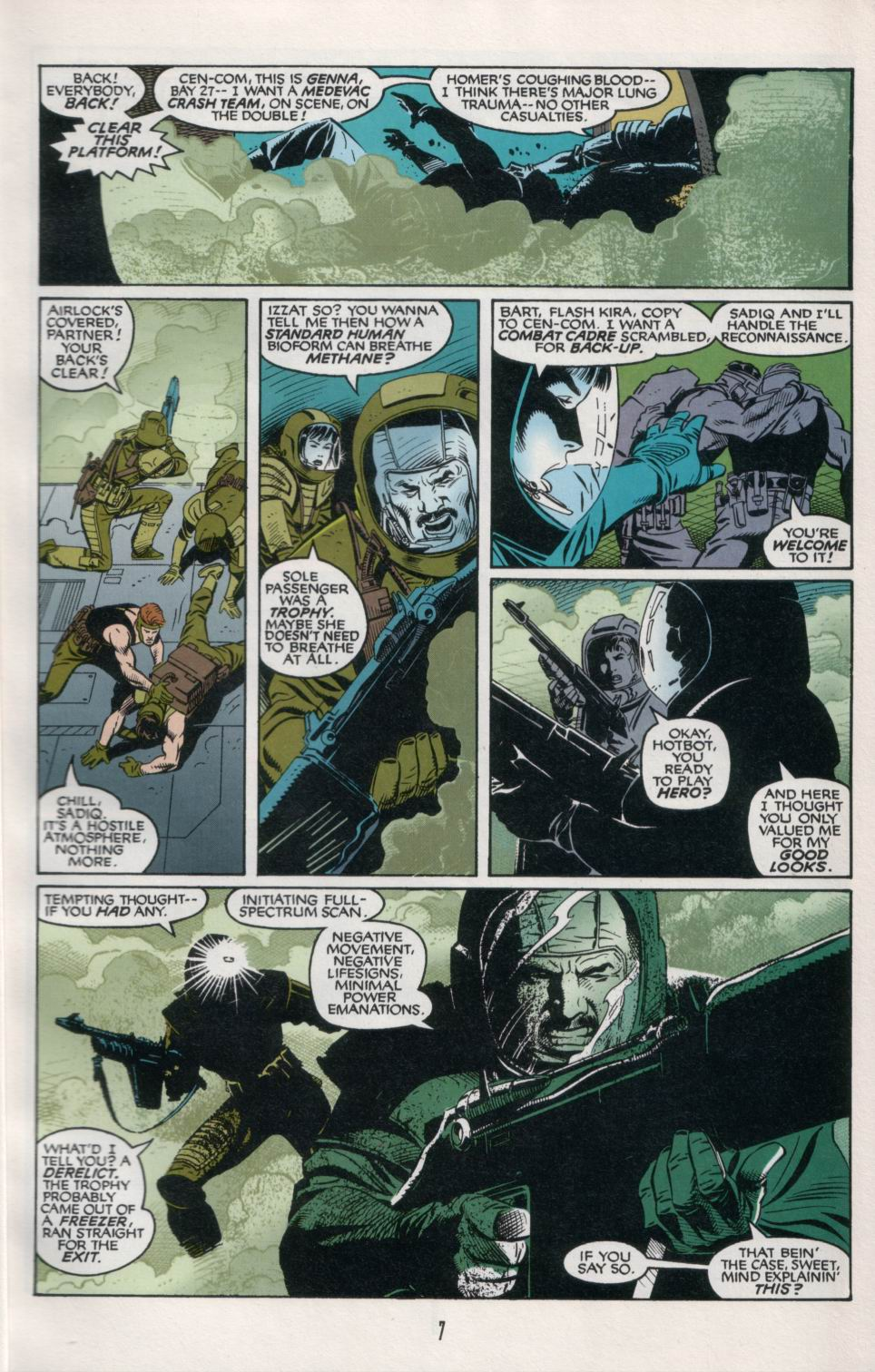Read online Aliens/Predator: The Deadliest of the Species comic -  Issue #6 - 9