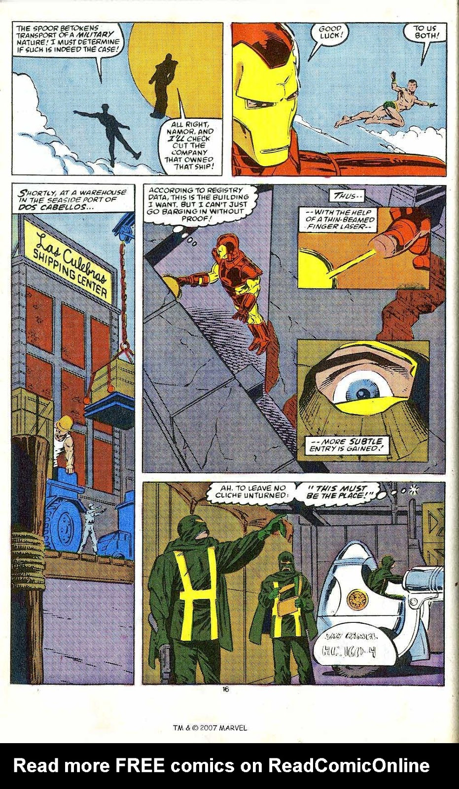 Iron Man Annual issue 10 - Page 18