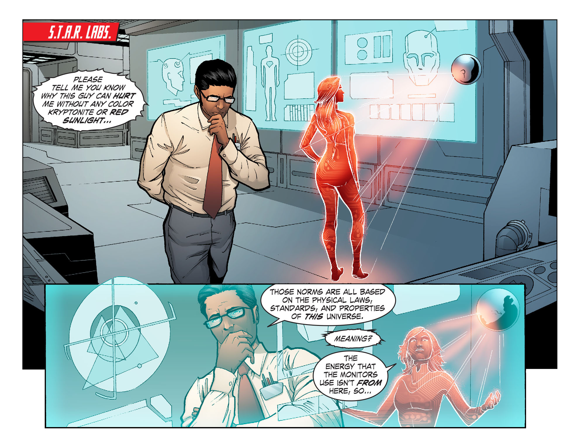 Read online Smallville: Alien comic -  Issue #10 - 18