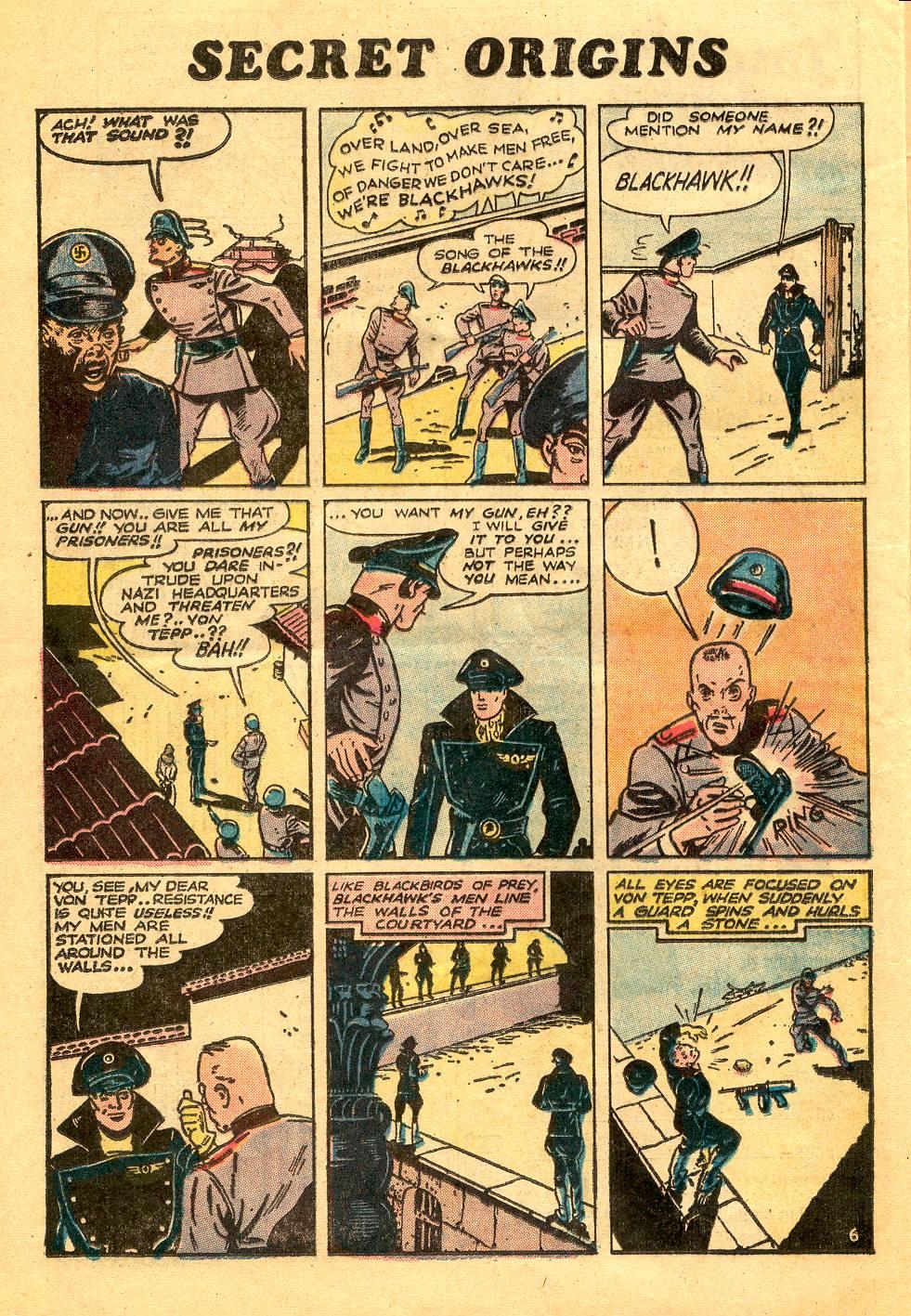 Read online Secret Origins (1973) comic -  Issue #6 - 24