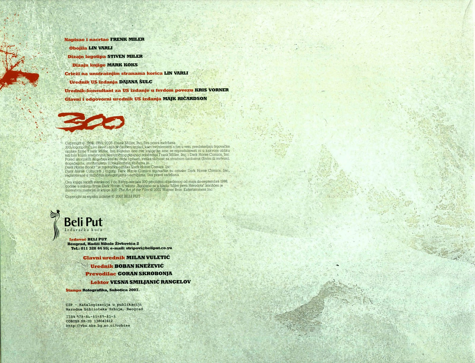 Read online 300 (2007) comic -  Issue # TPB - 5