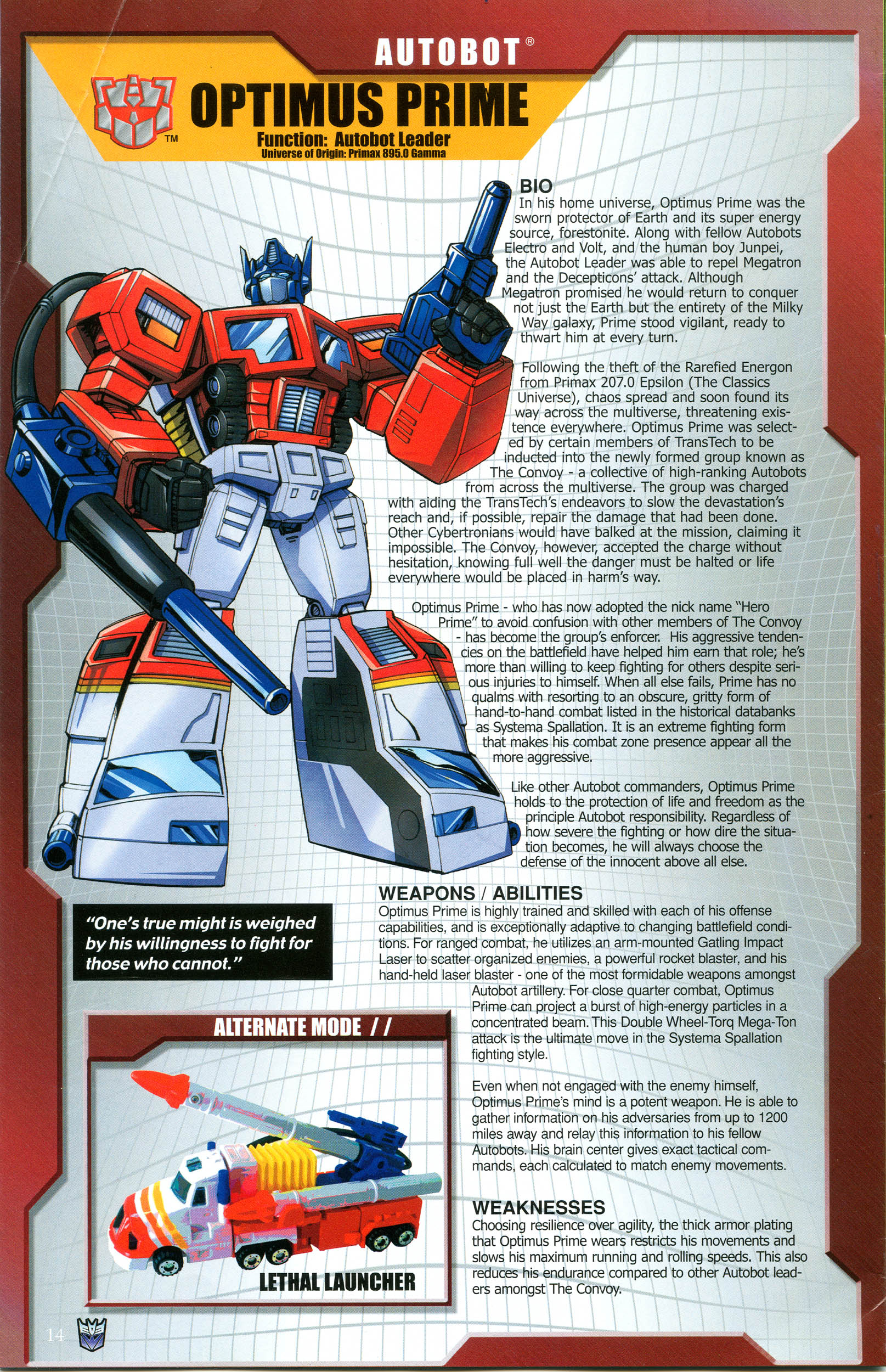Read online Transformers: Collectors' Club comic -  Issue #49 - 14