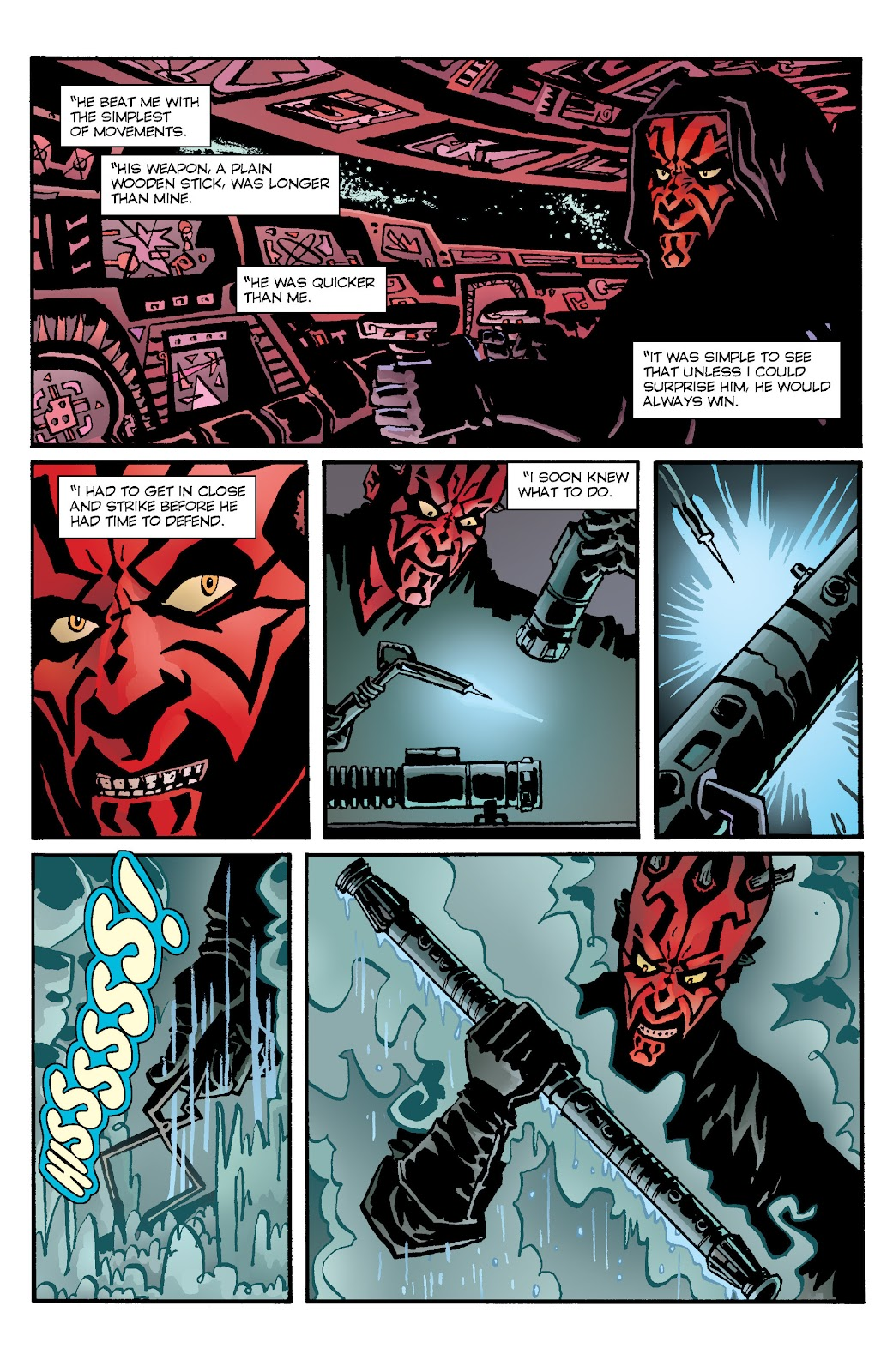 Read online Star Wars Legends: Rise of the Sith - Epic Collection comic -  Issue # TPB 1 (Part 4) - 50