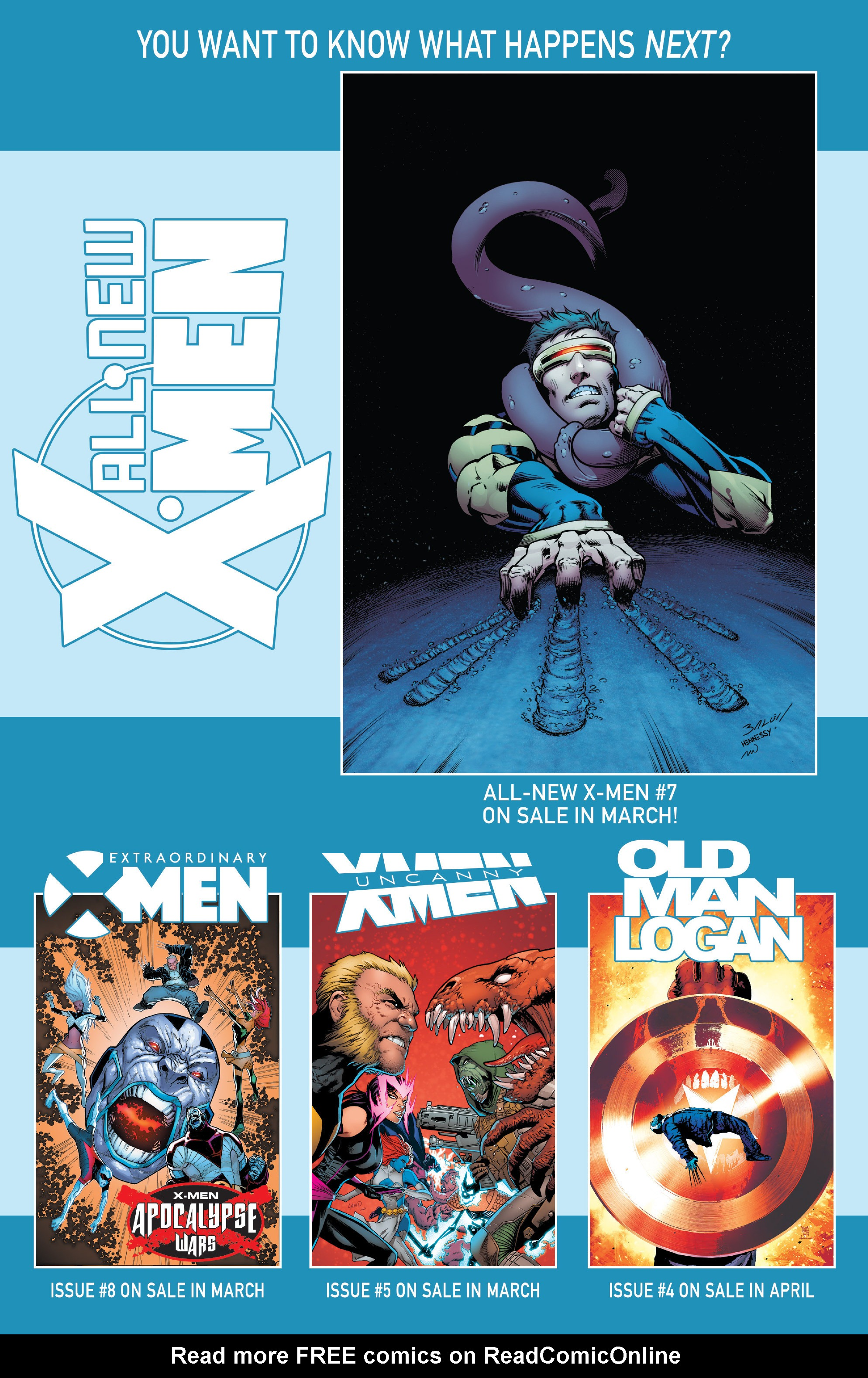 Read online All-New X-Men (2016) comic -  Issue #6 - 22