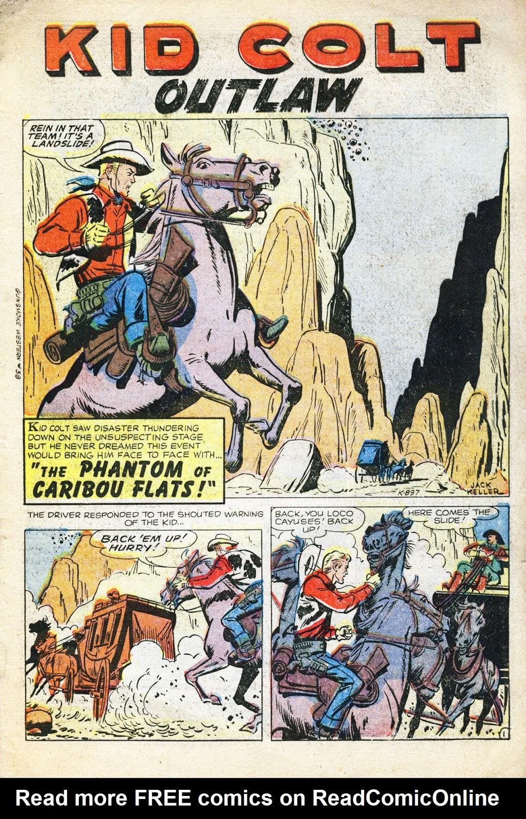 Gunsmoke Western issue 38 - Page 3