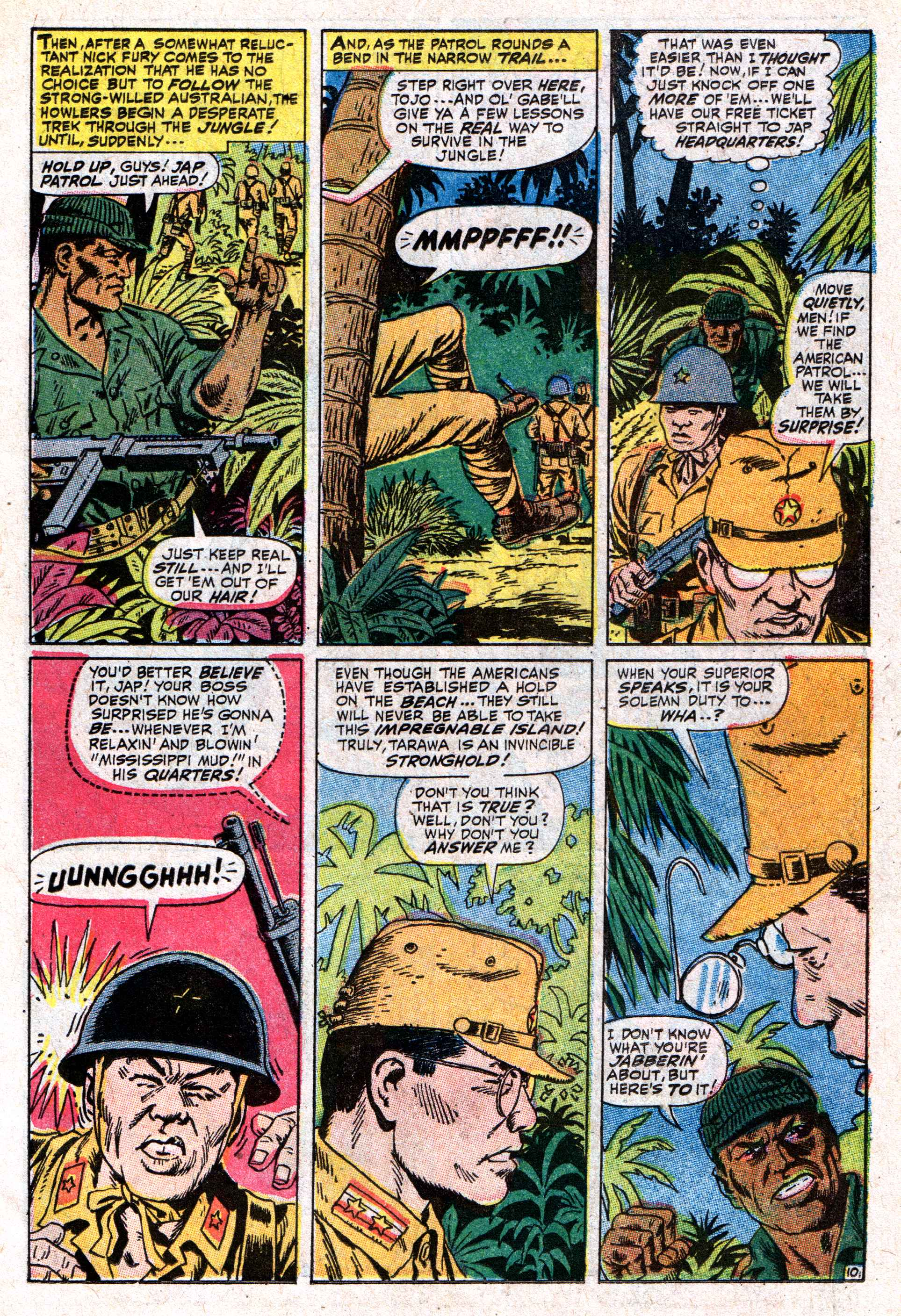 Read online Sgt. Fury comic -  Issue #50 - 15