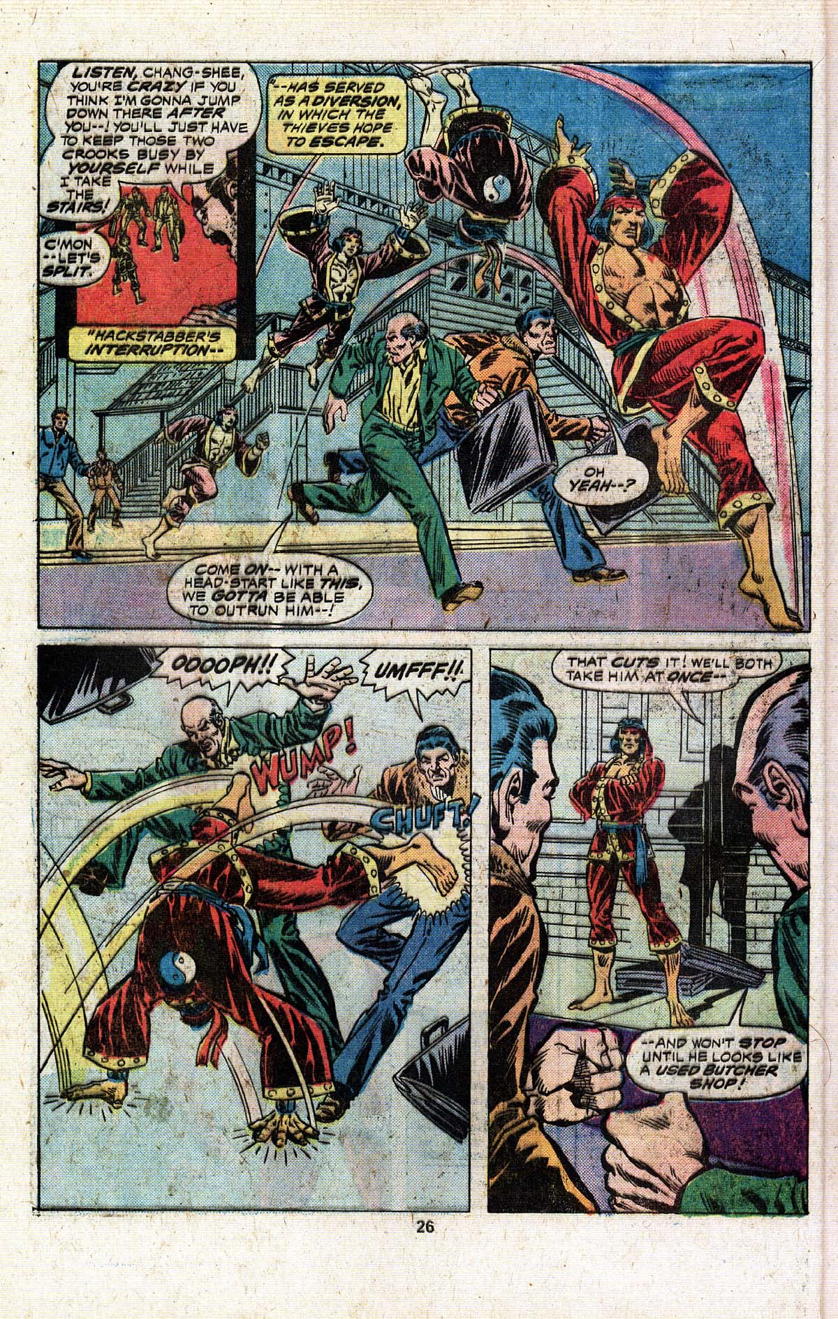 Read online Giant-Size Master of Kung Fu comic -  Issue #4 - 23