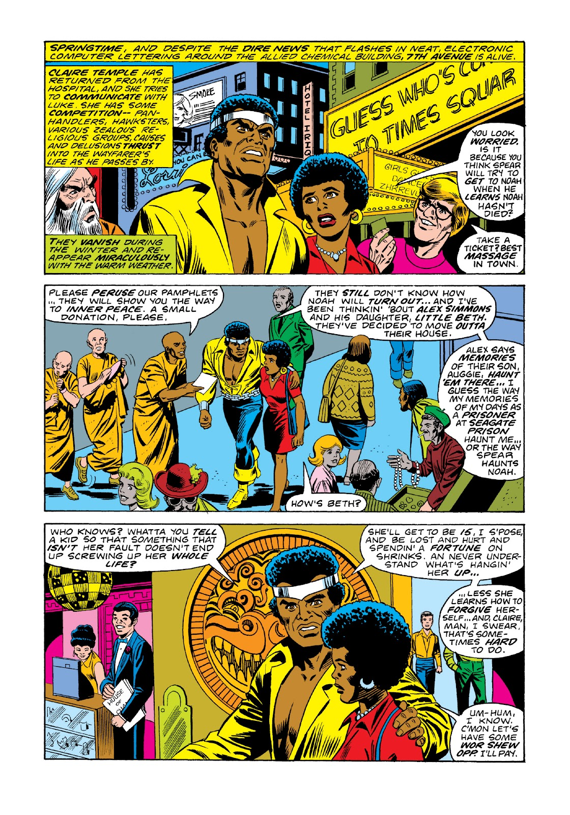 Read online Marvel Masterworks: Luke Cage, Power Man comic -  Issue # TPB 3 (Part 1) - 70