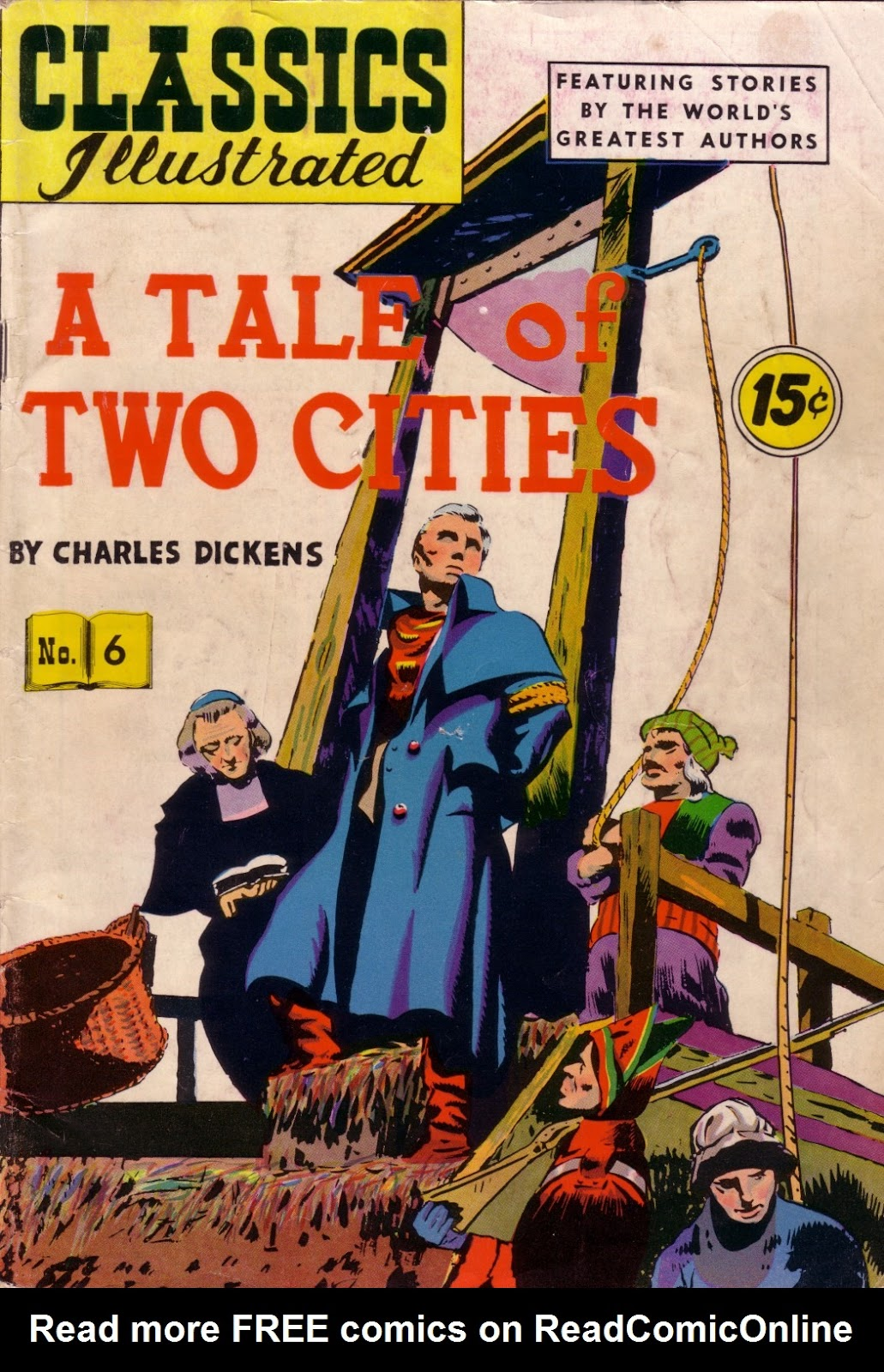 Classics Illustrated 6 Page 1