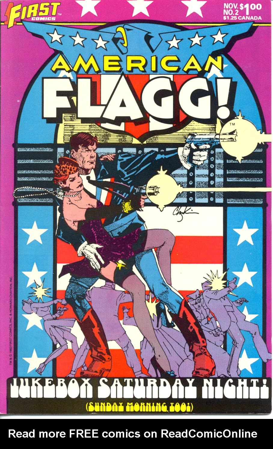 Read online American Flagg! comic -  Issue #2 - 1