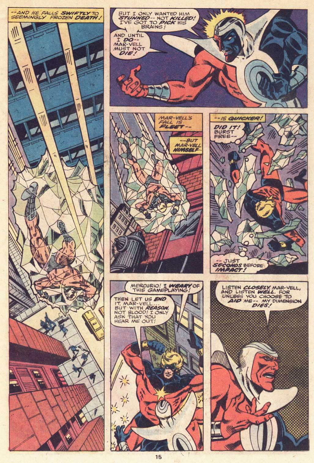 Captain Marvel (1968) issue 51 - Page 10