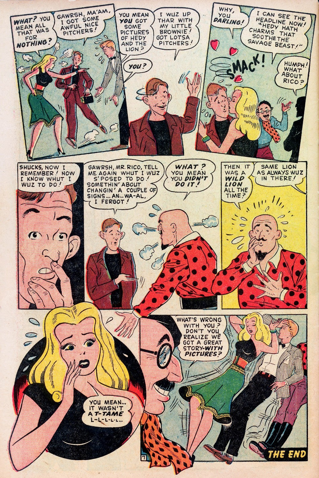 Read online Comedy Comics (1948) comic -  Issue #1 - 32