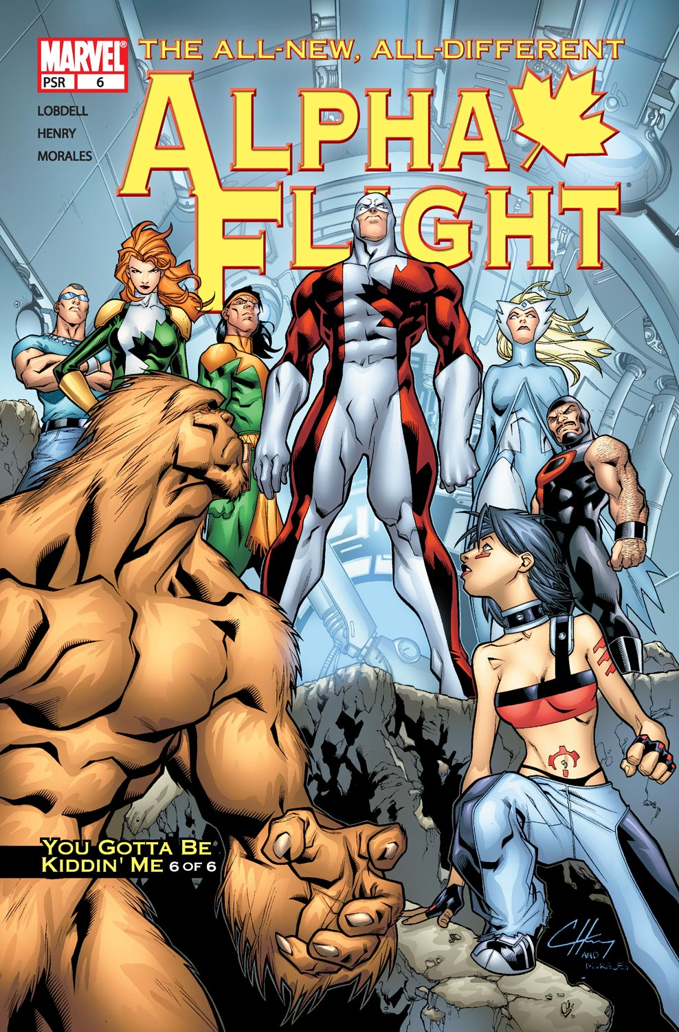 Read online Alpha Flight (2004) comic -  Issue #6 - 1