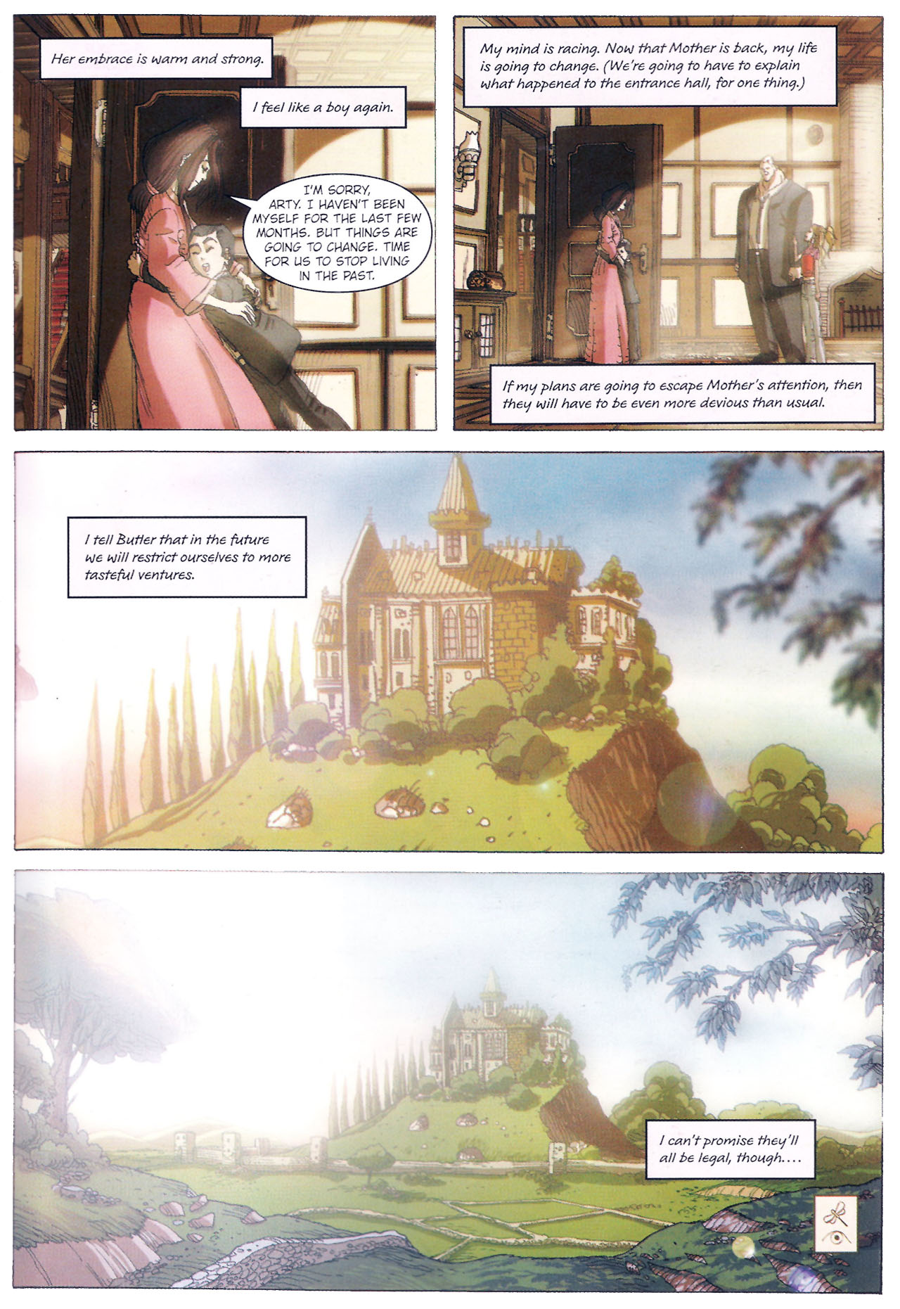 Read online Artemis Fowl: The Graphic Novel comic -  Issue #Artemis Fowl: The Graphic Novel Full - 112